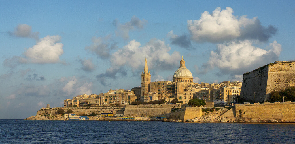 valletta city of the knights of st john order of malta capital city of malta