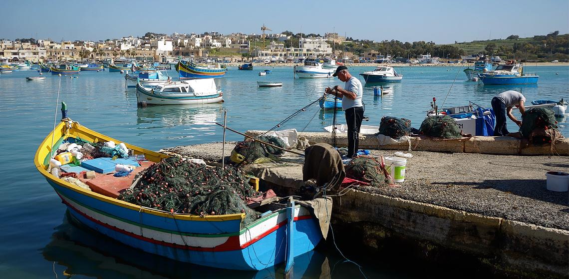marsaxlokk fishing village