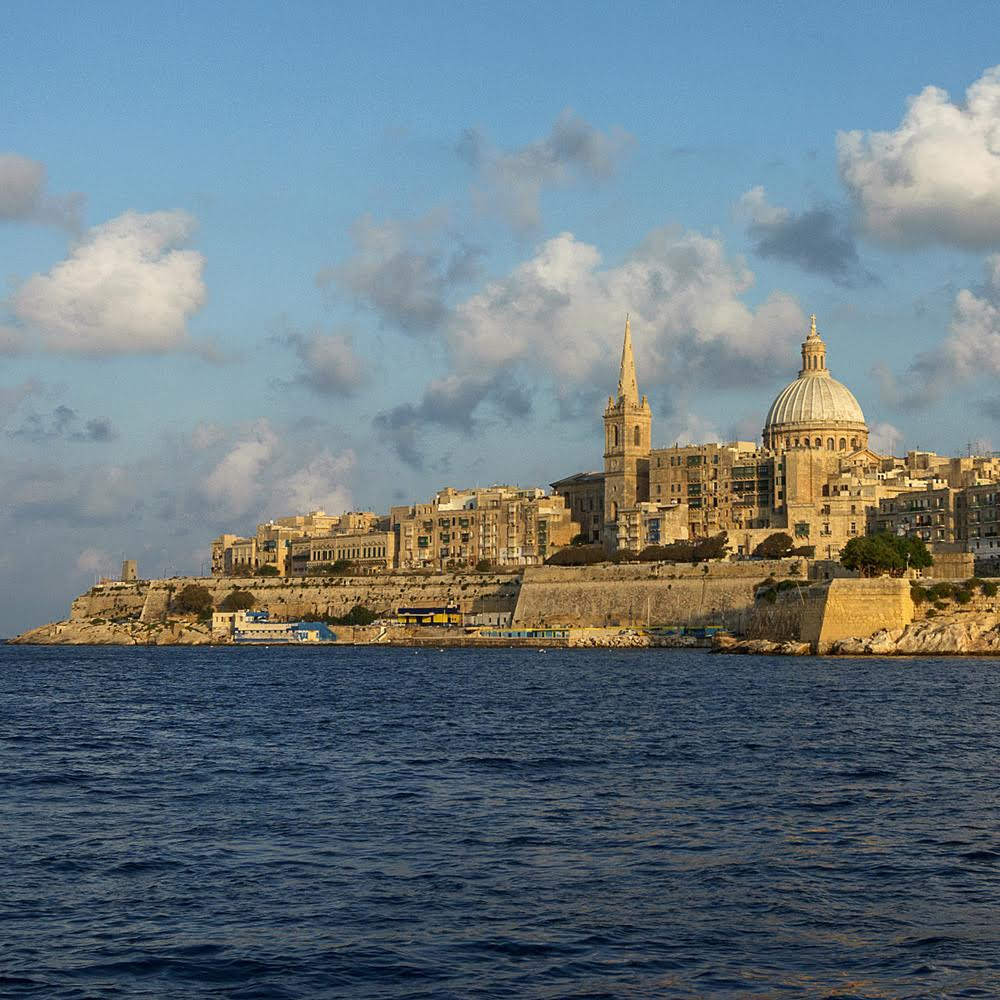 valletta capital city of malta