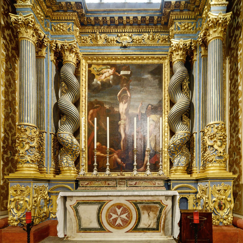 chapel of the langue of auvergne st john's co cathedral valletta